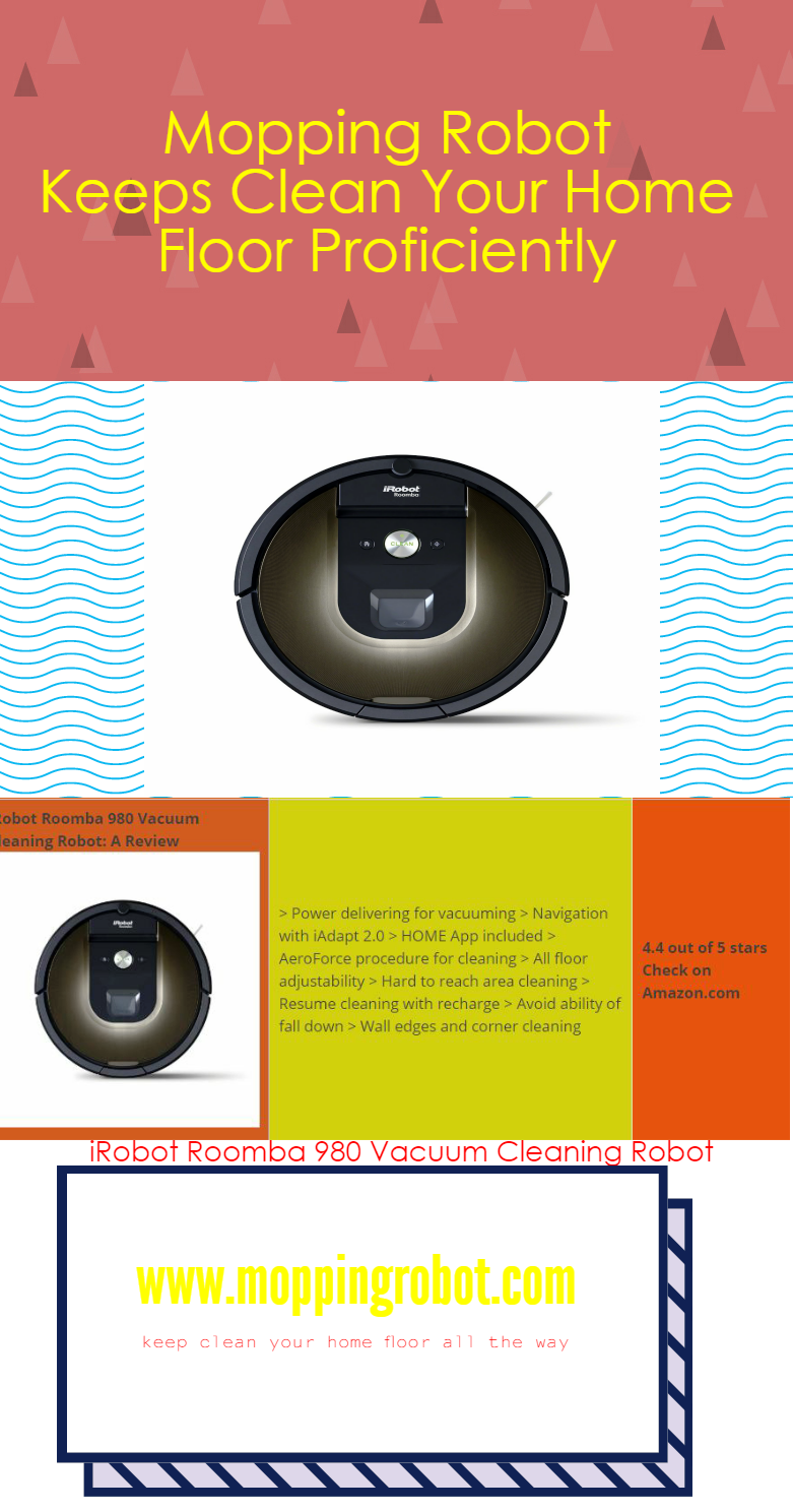 The Infographic Irobot Roomba 980 Vacuum Cleaning Robot
